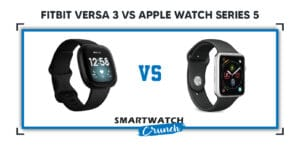 Fitbit versa 3 vs Apple watch series 5