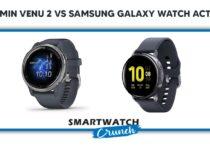 Compare Garmin Venu 2 vs Samsung Galaxy Watch Active 2