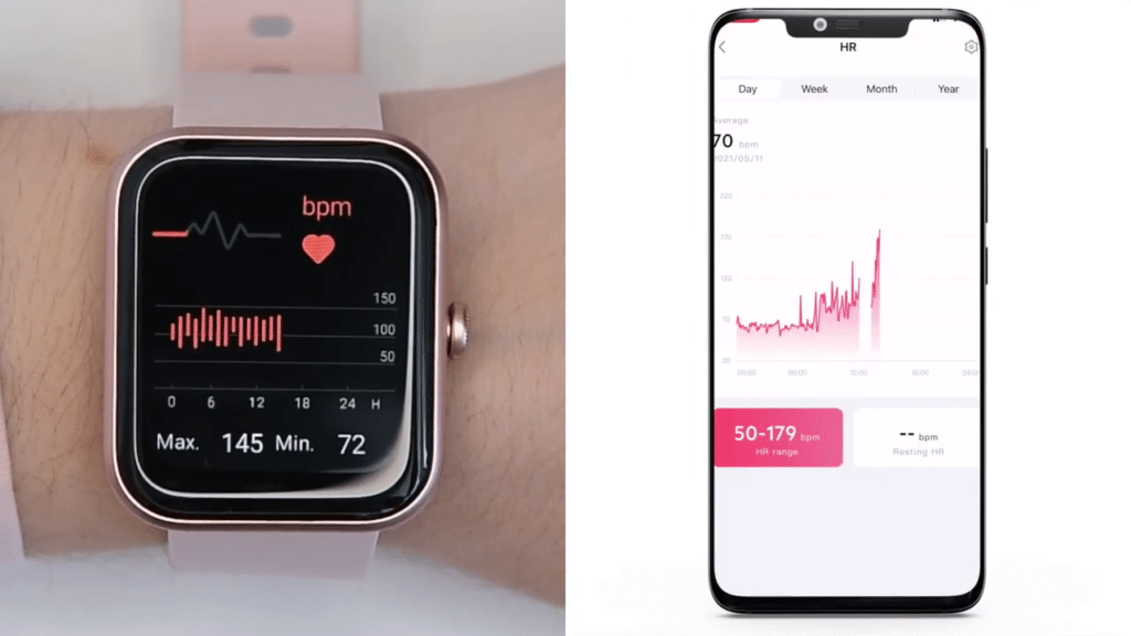 Id206 heart rate tracking