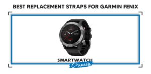 Replacement straps Garmin Fenix