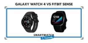 Galaxy watch 4 vs fitbit sense comparison